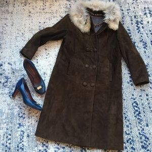 Vintage Leather and fur